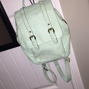 blue mini backpack 🦋